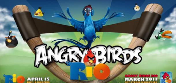Angry Birds Rio Hem Oyun Hem Film Olacak