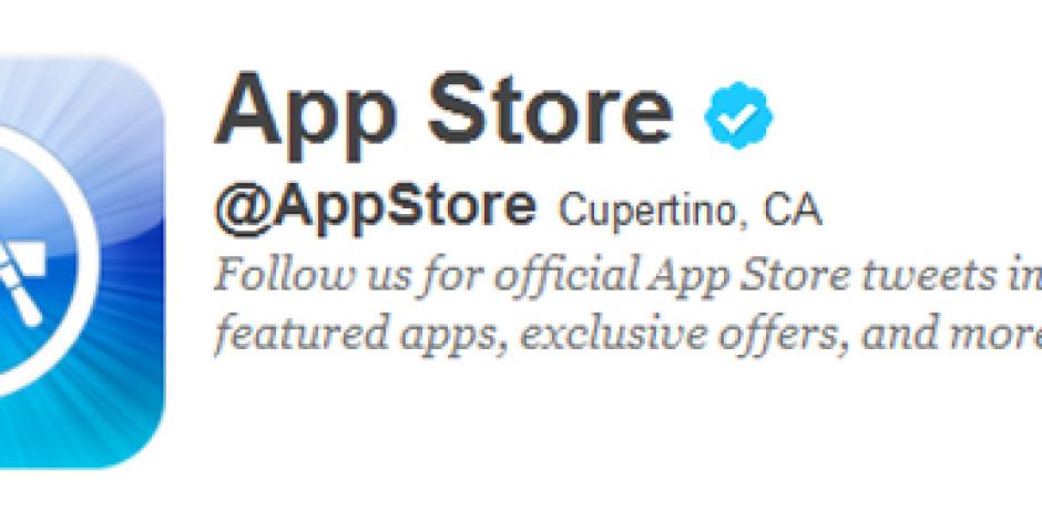 Twitter'da Resmi App Store Hesabı Açıldı
