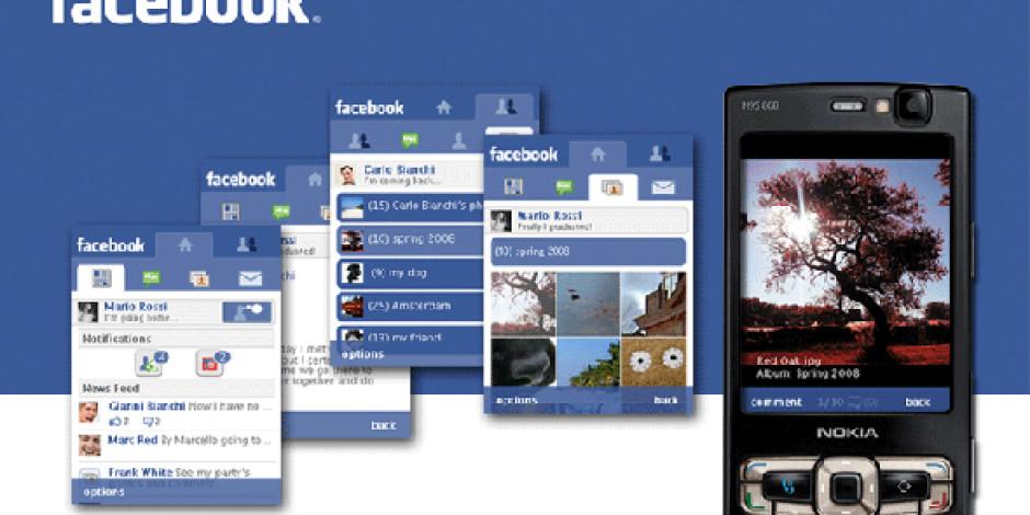 Facebook Mobil Deneyimini Geliştirdi