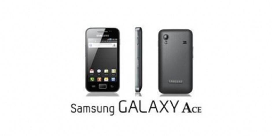 Samsung Yeni Akıllı Telefonu Samsung Galaxy Ace'i Tanıttı