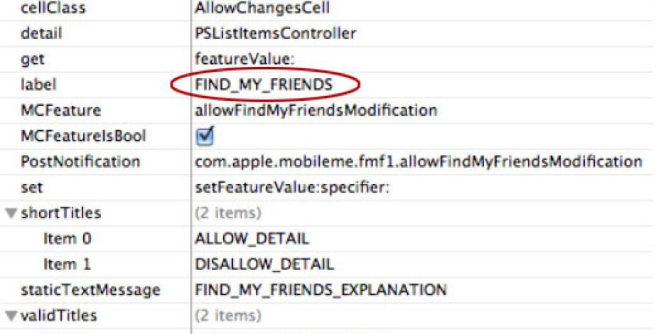 iOS 4.3′te Lokasyon Bazlı Arkadaş Bulma Özelliği