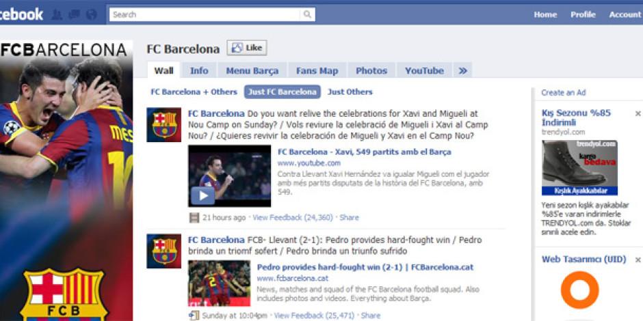 2010 Yılının Sosyal Medya Lideri Spor Kulüpleri