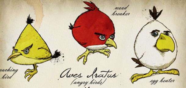 Hangi 'Angry Bird' En Çok Seviliyor? [Infographic]