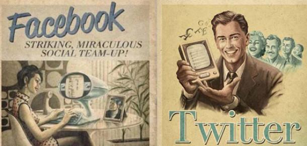 Facebook ve Twitter 2010'u Nasıl Geçirdi? [Infographic]
