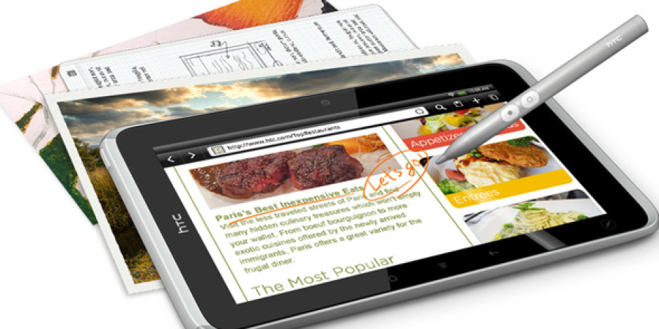 HTC Tablet Piyasasına Flyer ile Girmeye Hazırlanıyor