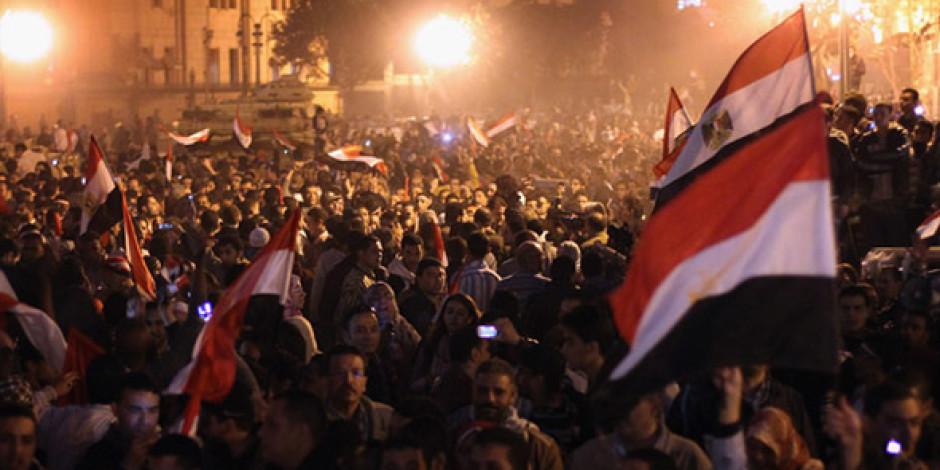 Twitter'da Mısır Devrimi