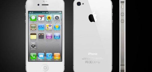 Beyaz iPhone 4 Çok Yakında