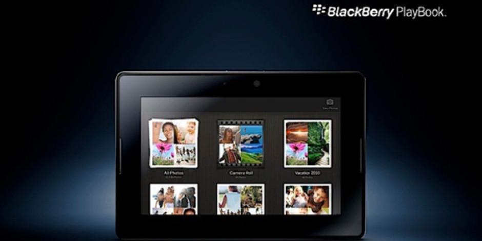 Blackberry'nin Playbook Tableti Android Uygulamarını da Destekliyor!