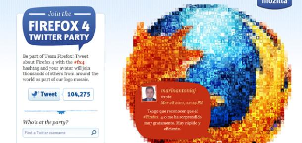 Firefox 4'ün Twitter Partisine Katılmak İster Misiniz?