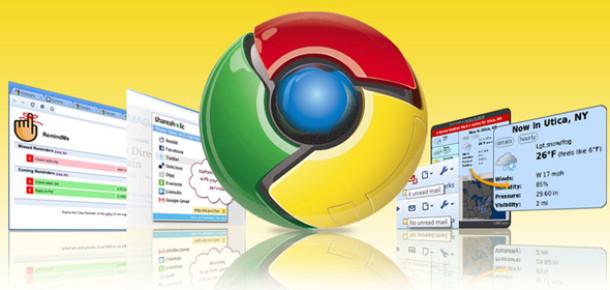 Google Chrome 10 Sahnede