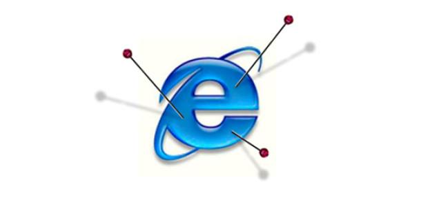 Microsoft Internet Explorer 6 için Geri Sayım Sitesi Kurdu