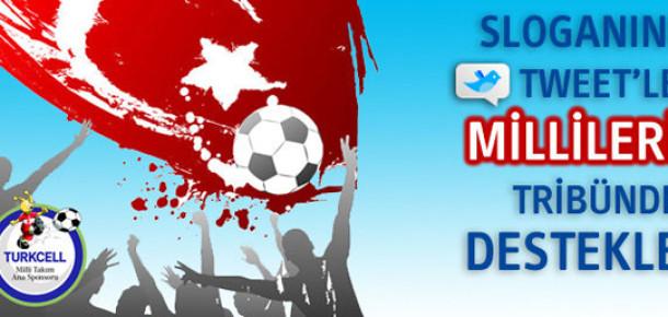 Milli Takım İçin En İyi Sloganı Bul, Bileti Kap!