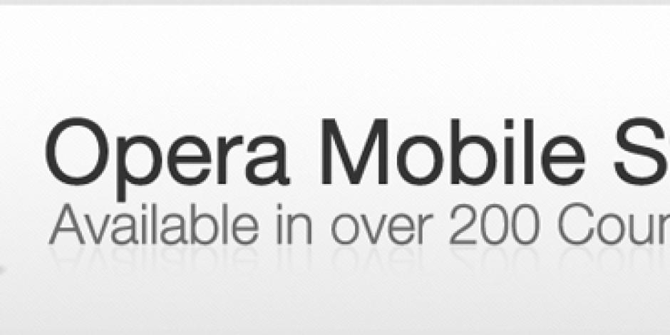 Opera'dan Mobil Uygulama Platformu