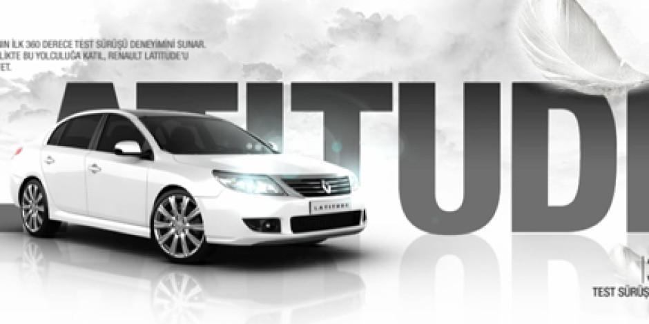 Renault Latitude ile 360 Derece Test Sürüşü Deneyimine Hazır mısınız?