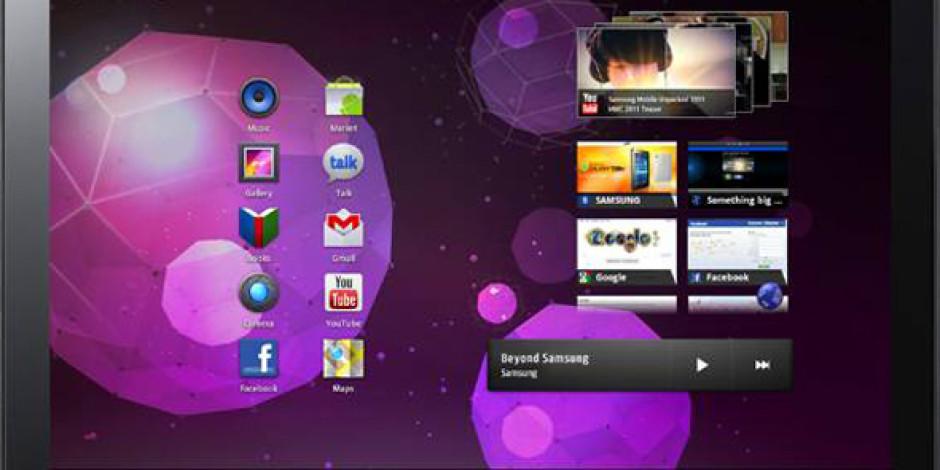Samsung 8.9 inch'lik Galaxy Tabletle Geliyor