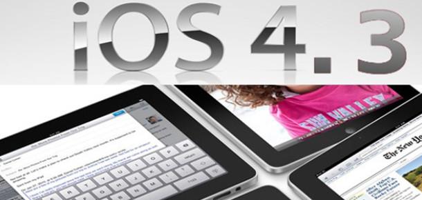 iOS 4.3 Resmi Olarak Yayınlandı