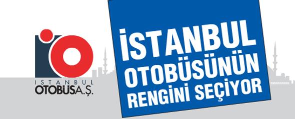 İstanbul Otobüsünün Rengini Seçiyor