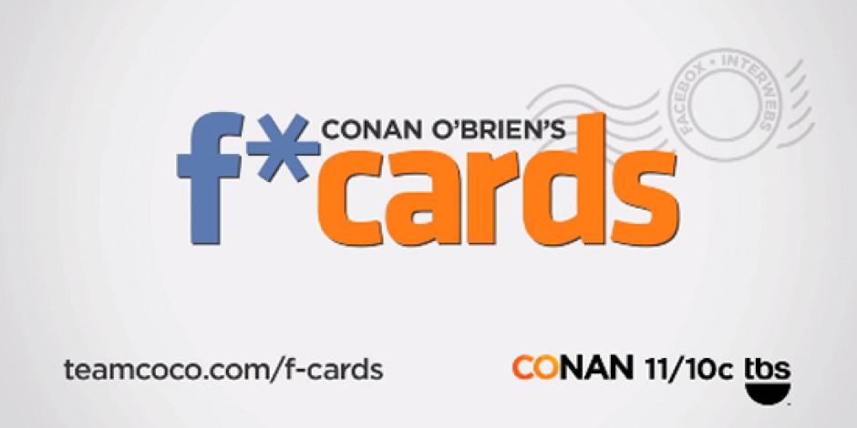 Conan O'Brien'dan Facebook Klişeleri İçin: F-Card