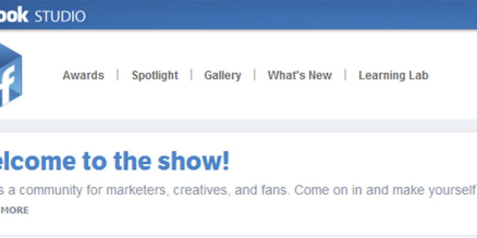 Facebook Studio ile Reklam Ajansları Bir Araya Geldi