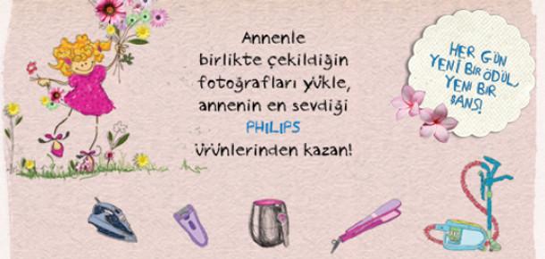 Philips Türkiye'den Anneler Günü'ne Özel Facebook Kampanyası