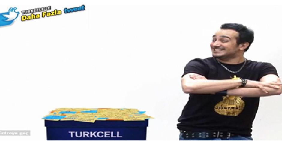 Turkcell'den Twitter Üzerinden İnteraktif Kampanya