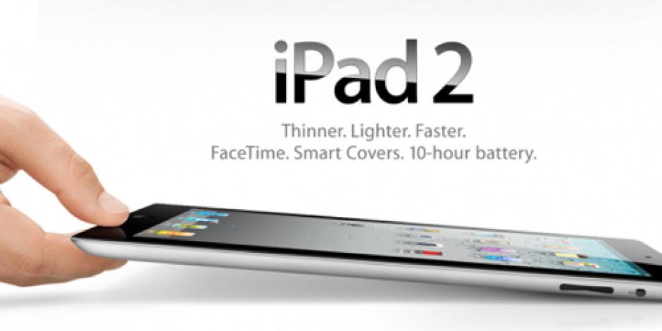 iPad 2, 29 Nisan'da Resmî Olarak Türkiye'de