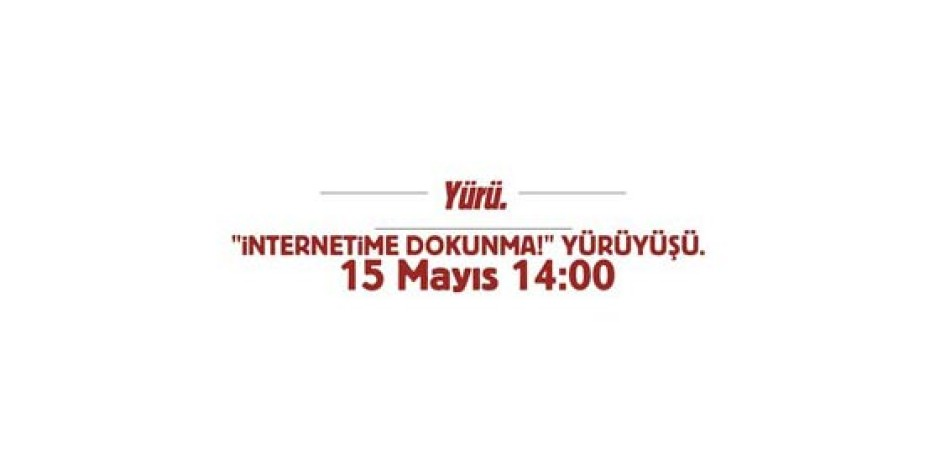 15 Mayıs'ta Hep Beraber Yürüyoruz!