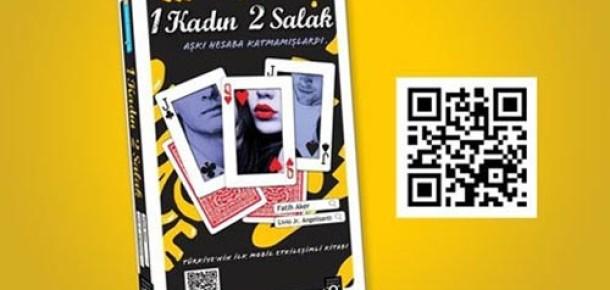 Türkiye'nin İlk Mobil Etkileşimli Kitabı: 1 Kadın 2 Salak