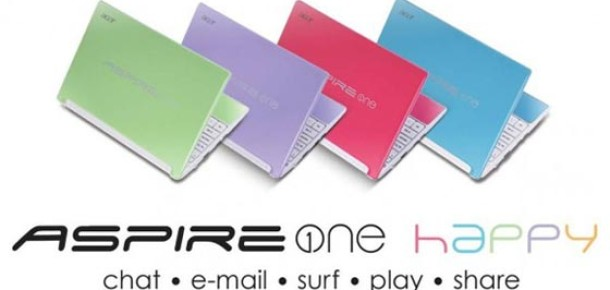 Acer Facebook Sayfasında 'One Happy Netbook' Ödüllü Yarışma