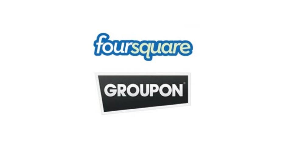 Groupon ve Foursquare İşbirliğine Gidiyor