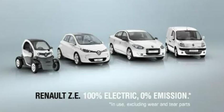 "Renault'dan ""Elektrikli"" Reklam Kampanyası"