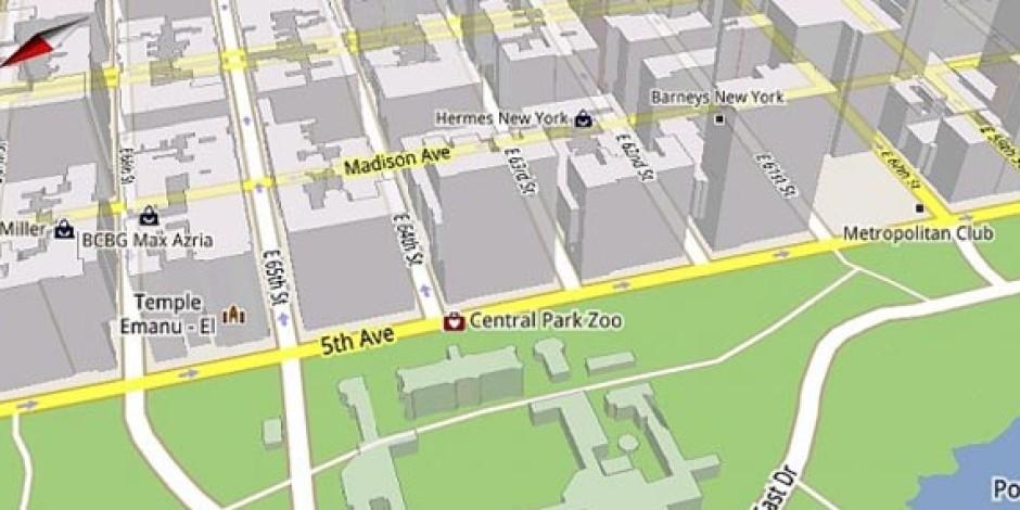 Mobil Kullanıcılar İçin Tarayıcı Tabanlı Google Maps Gelişmeleri