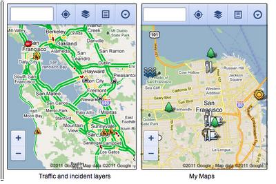 google maps mobil tarayici Mobil Kullanıcılar İçin Tarayıcı Tabanlı Google Maps Gelişmeleri