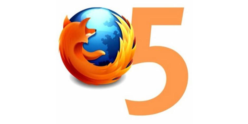 Mozilla Fazla Bekletmedi, Firefox 5 Yayınlandı