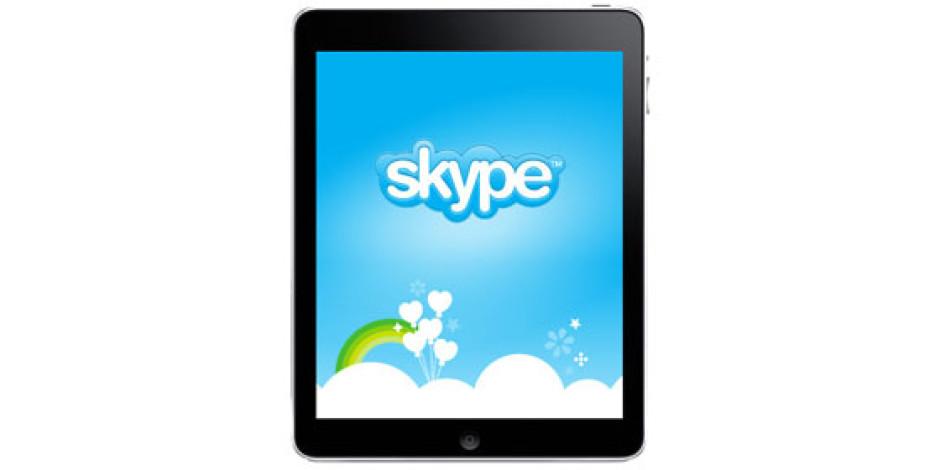 iPad 2 İçin Skype Yolda