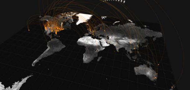 Twitter, Küresel Tweet Akışını Görselleştirdi
