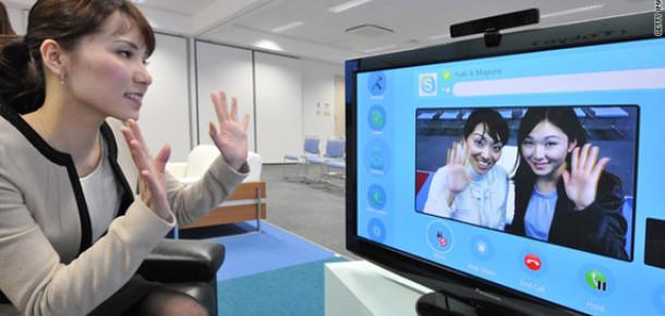 Skype Şimdi de Televizyonunuzda