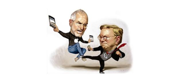 Eric Schmidt, Apple'ın Davalarından Muzdarip