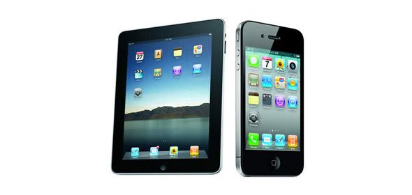 iPad ve iPhone