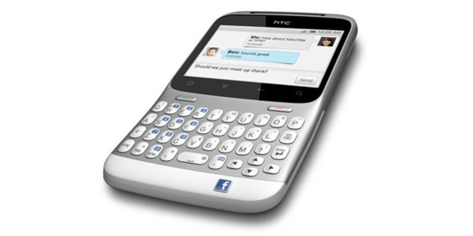 Facebook Düğmeli Akıllı Telefon Geliyor