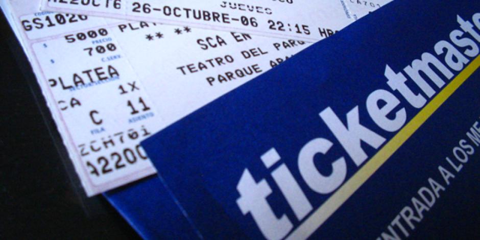 Ticketmaster'dan İnteraktif Oturma Düzeni