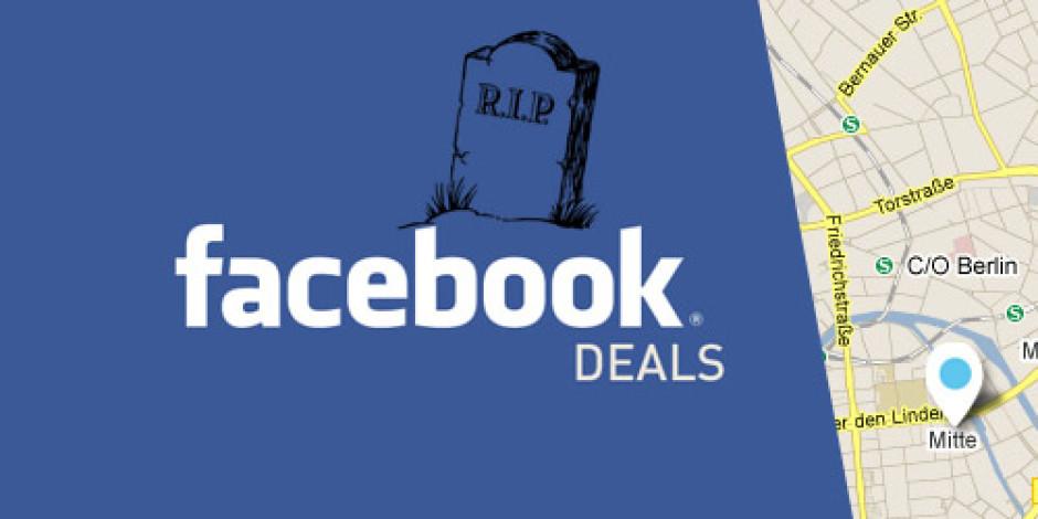 Facebook Deals Başlamadan Sona Erdi