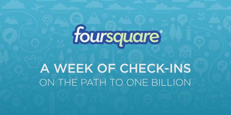 Foursquare, 1 Milyar Check-in'e Ulaştı