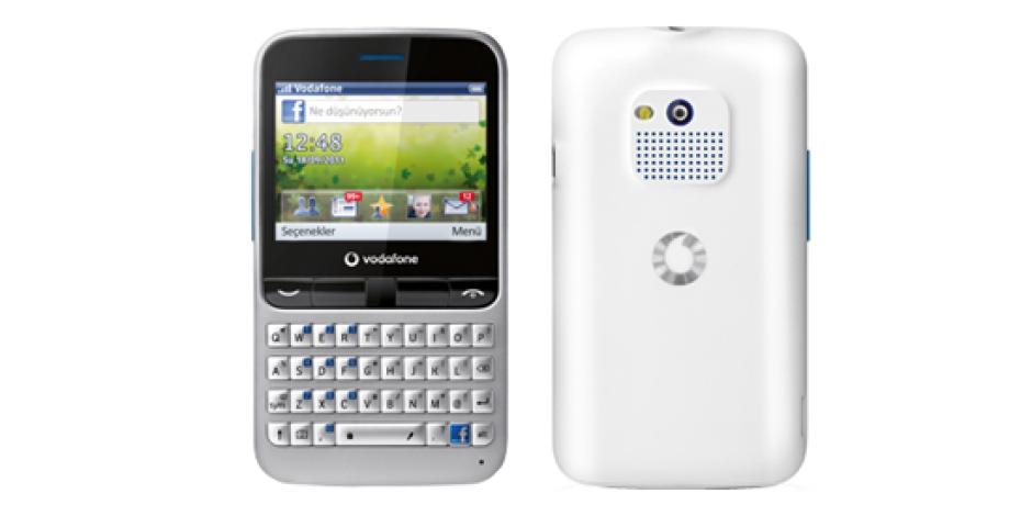 Vodafone'dan Facebook Telefonu: Vodafone 555