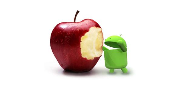 Android Son Üç Ayda iPhone'u İkiye Katladı