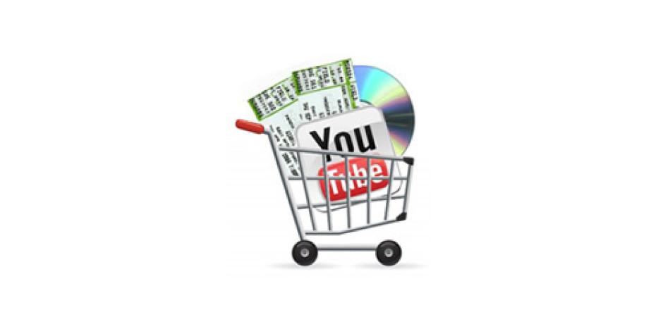 Youtube'da Sanatçı Ürünlerini, Konser Biletlerini Satmak Mümkün!