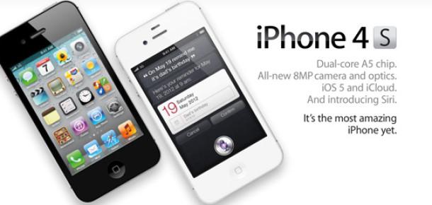 iPhone 4S, 24 Saatte 1 Milyon Sipariş Aldı