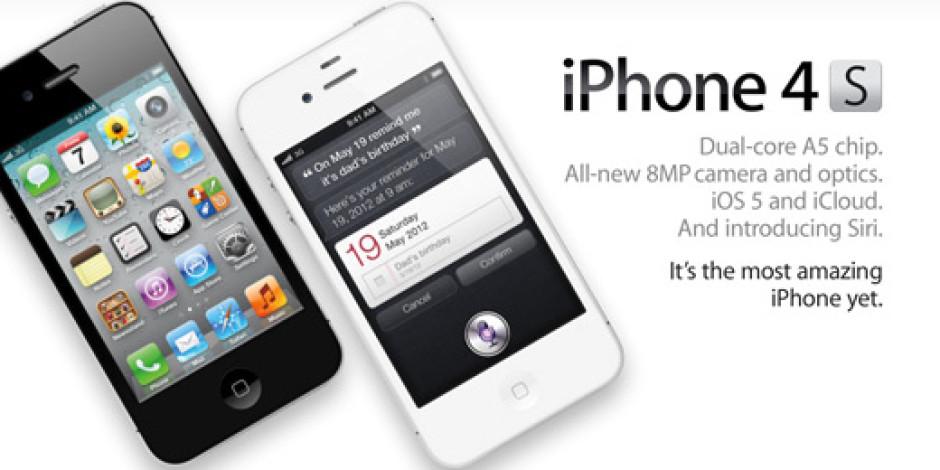 iPhone 4S, Ön Siparişe Açıldı!
