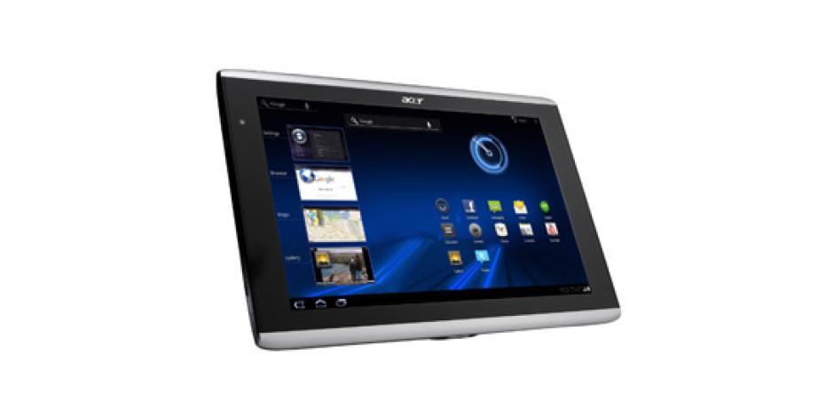 Acer'ın Android 3.2 Honeycomb İşletim Sistemli Tableti ICONIA A501 Türkiye'de