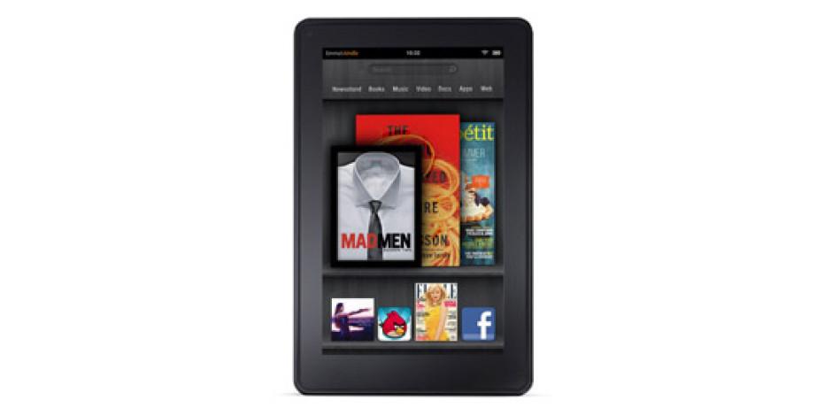 Kindle Fire, 4. Çeyrekte 3.9 Milyon Gönderim Rakamına Ulaşacak